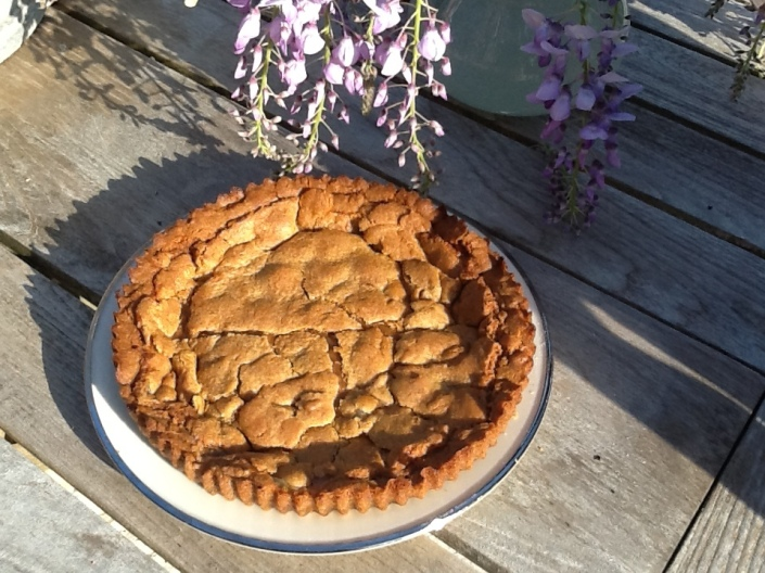 apple toffee pie