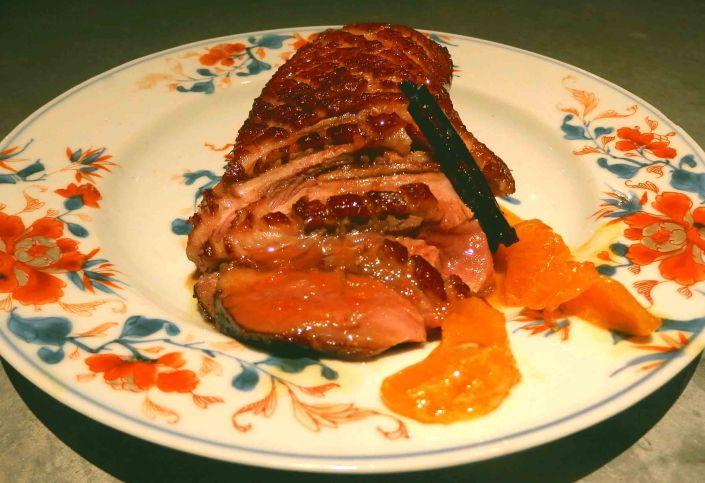 Clementine peking duckbreast
