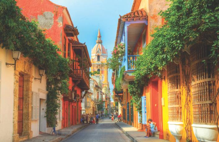 The Beautifull City of Cartagena