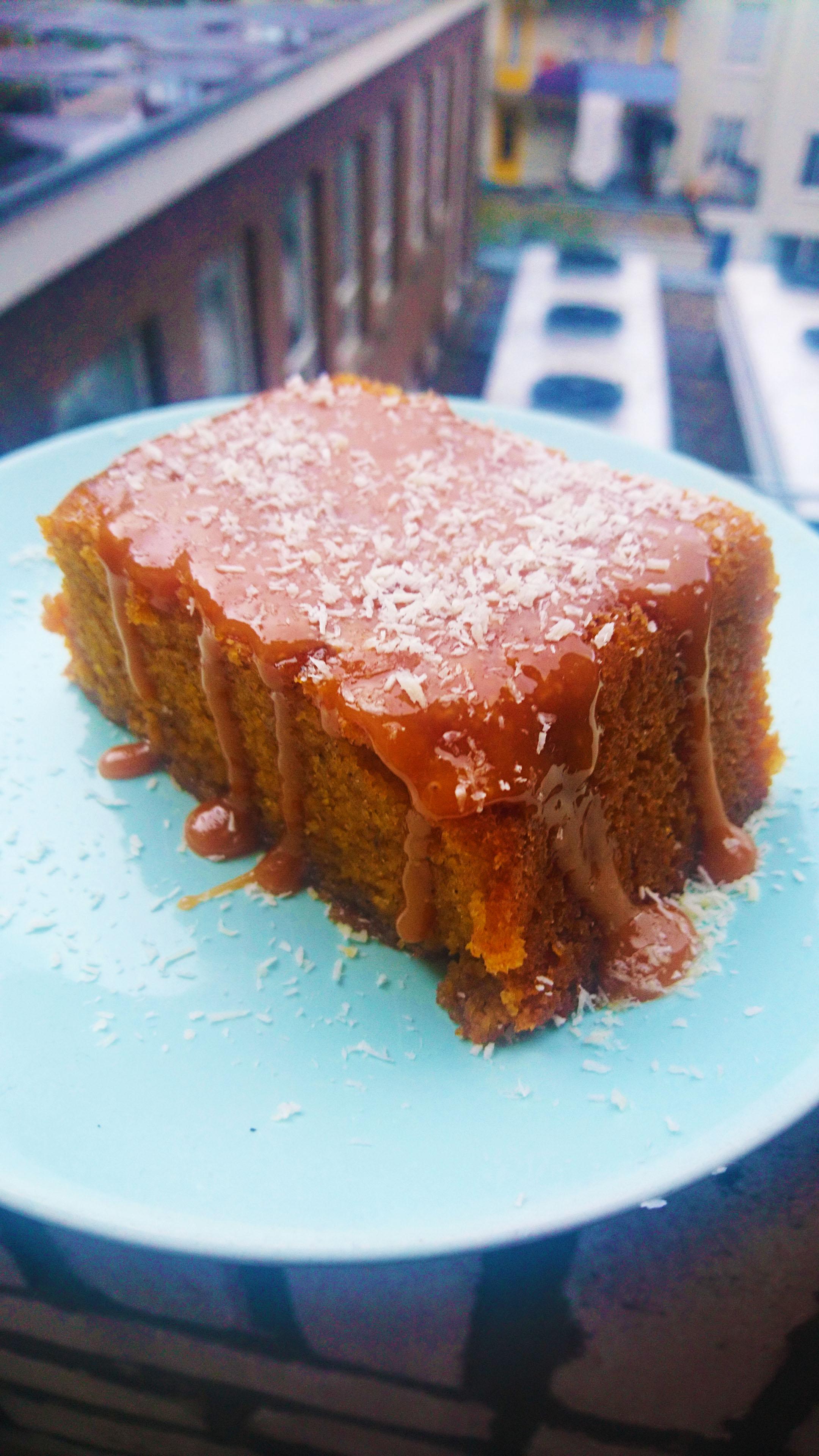 coconut spice cake